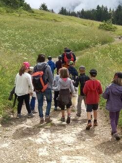 Sortie montagne nº7: petits randonneurs