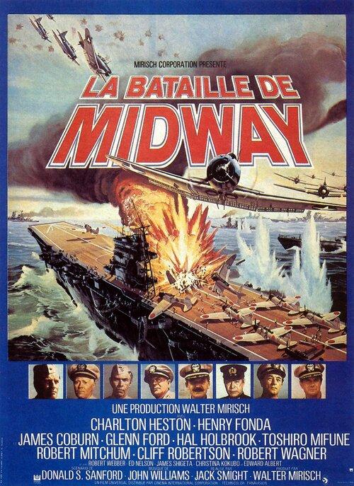 LA BATAILLE DE MIDWAY AFFICHE 1977