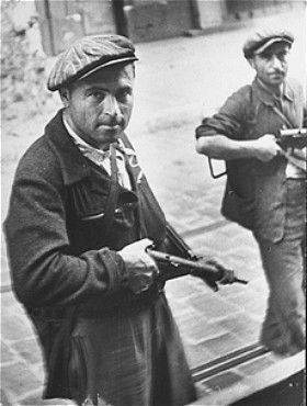 Jewish Resistance Fighters, France August 1944