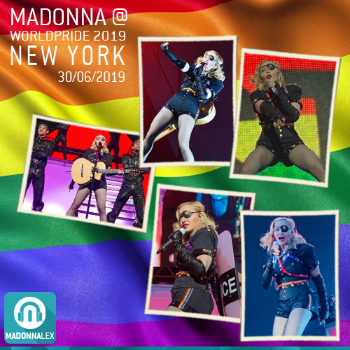 La performance de Madonna à la WorldPride : les photos
