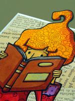 Oeuvres uniques dans la galerie des éditions pour penser à l'endroit