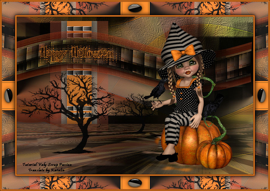 Valy Scrap Passion ~ Happy Halloween