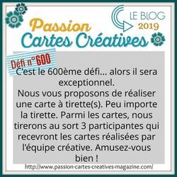 Passion Cartes Créatives#600 !