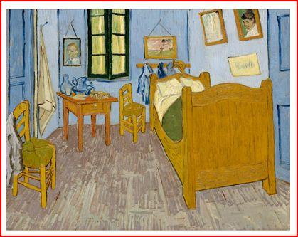 Van gogh pr palipopette - Van gogh la camera da letto ...