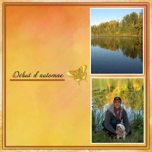 Mes pages avec photos personnelles