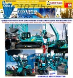 SUNWARD HEAVY INDUSTRY: BAUMA CHINE 2014.
