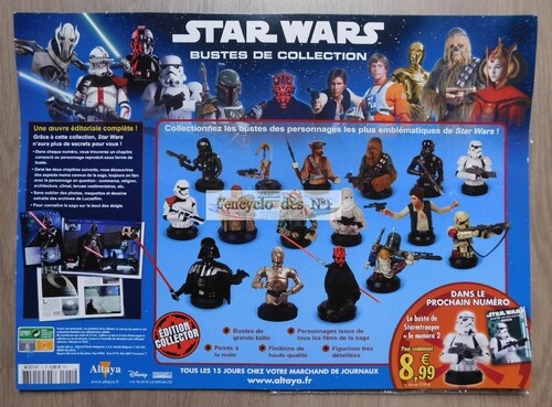 N° 1 Bustes de collection Star Wars - Lancement