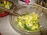 Recette salade thaï et lamelles de courgettes: ingrédients de la sauce
