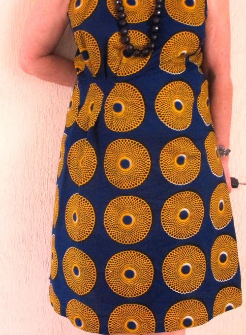 Les robes en wax de l'été 2015
