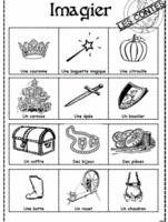 Personnages imaginaires et contes, dixmois