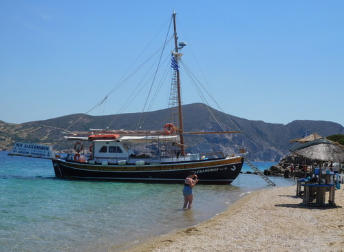 l'Odysée des Cyclades.Paros