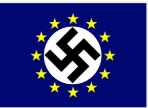 UE nazie fond bleu