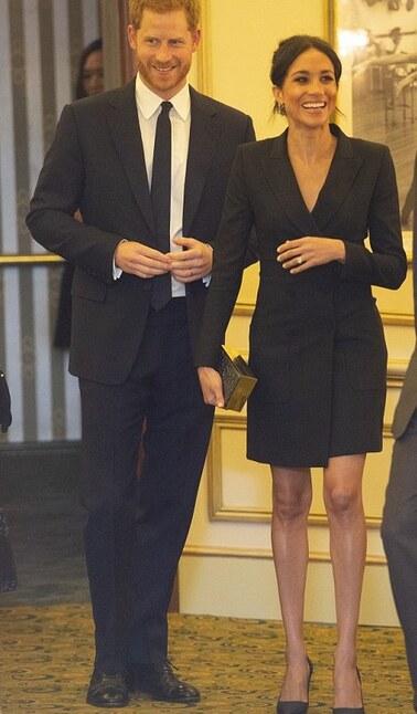 Harry et Meghan à un gala
