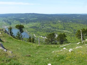 Vue du sommet - Panorama à 360° - Lac Brenet