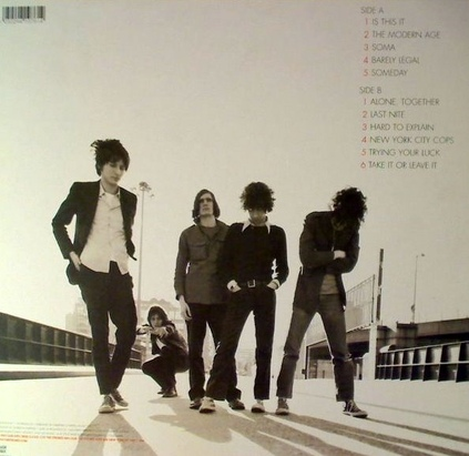 My Daughter's Choice # 7 : The Strokes - Is this it? (2001)