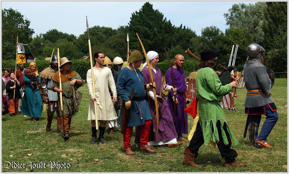 Médiévales de Commequiers 2015 (3) - Défilé & Présentation