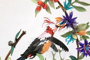Oiseaux en papier