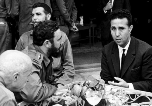 Ben Bella, Che, Castro