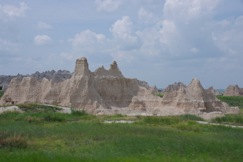 Le South Dakota et Badlands NP