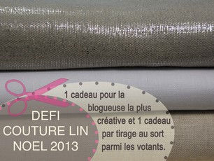 Défi Couture Lin Noël 2013 #3