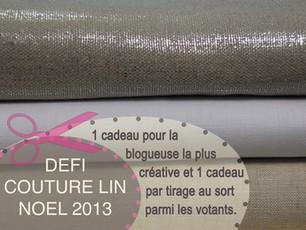 Défi couturelin Noël 2013 #2