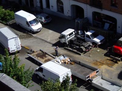 L'image de la résidentielle avenue du Castel en train de pâlir !!!