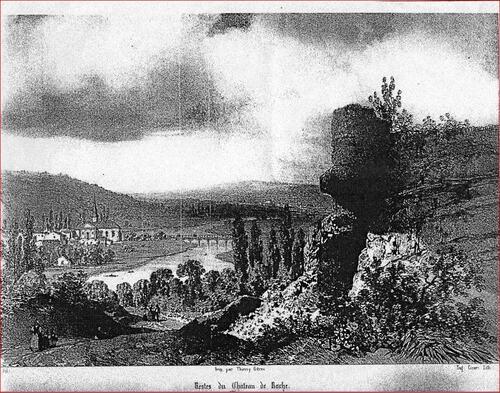 château de roches sur marne