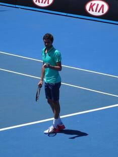 Le TCT à l'Open d'Australie...