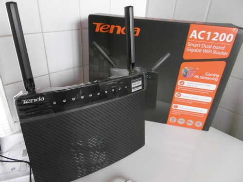Tenda routeur wifi 1200Mbps gibabit