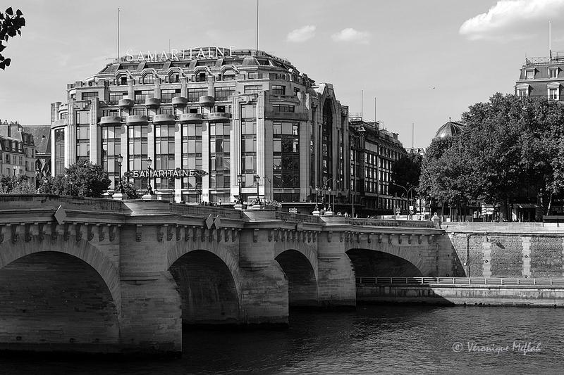 Le Pont Neuf et La Samaritaine