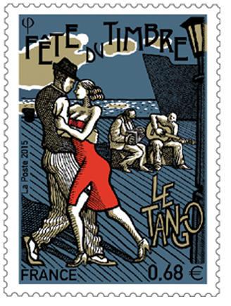 """★ Le tango, thème choisi pour la """"FETE DU TIMBRE"""" samedi 10 octobre ★"""