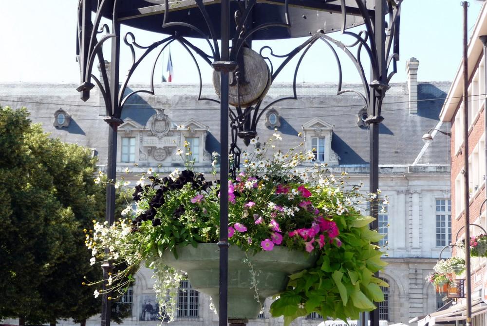 Premiers jours d'été à Amiens