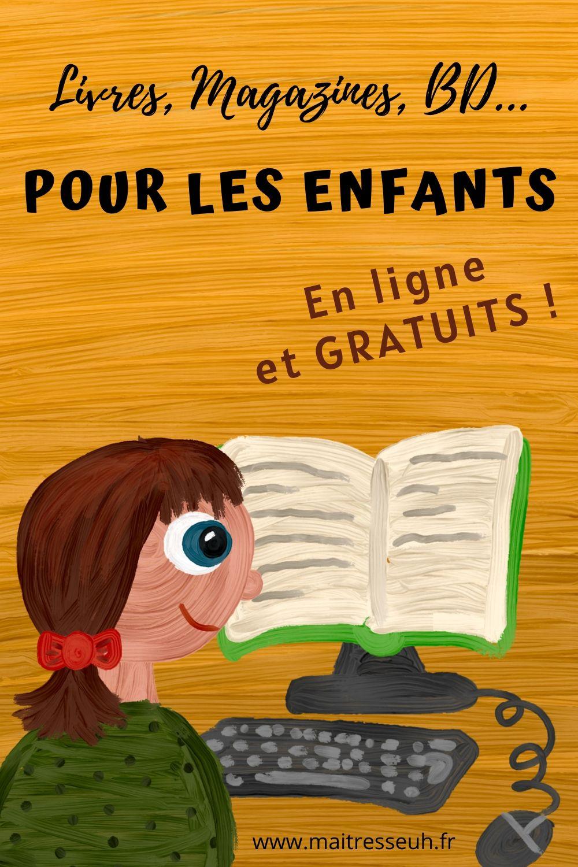 Ou Trouver Des Livres Pour Enfants En Ligne Et Gratuits Maitresseuh
