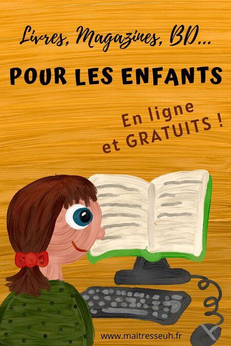 Où trouver des livres pour enfants en ligne (et gratuits !)
