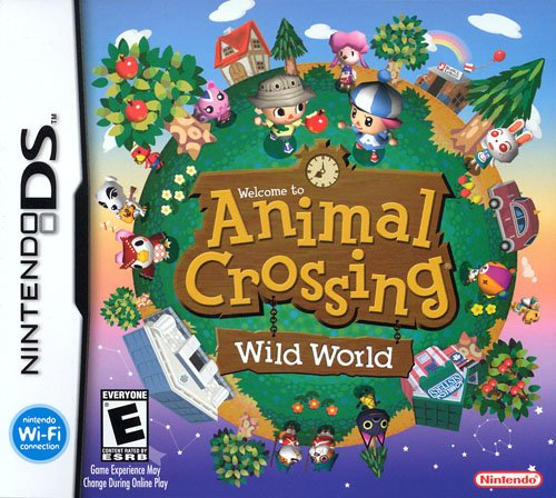 Boite Animal crossing: wild world DS