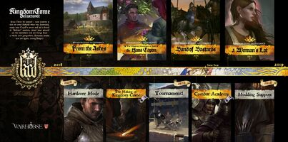 NEWS : Kingdom come Deliverance, DLC A woman's lot et édition royale*