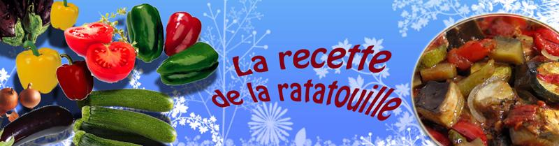 **   Le 08 AOUT.-  RECETTE  de la RATATOUILLE. **