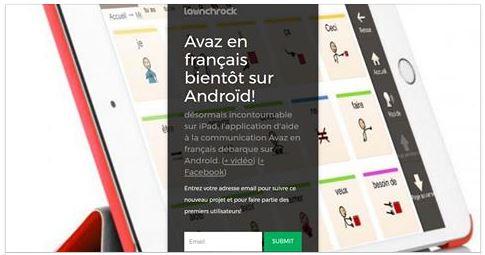 Avaz en français bientôt sur Android