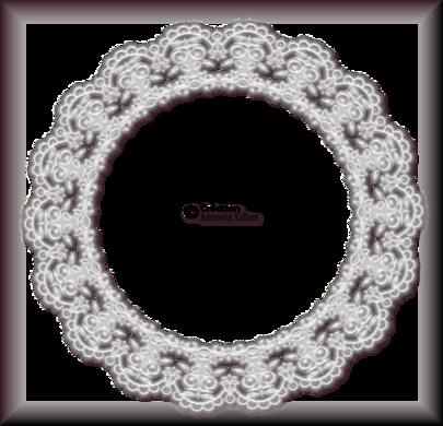 Tube cadre de dentelle 2938