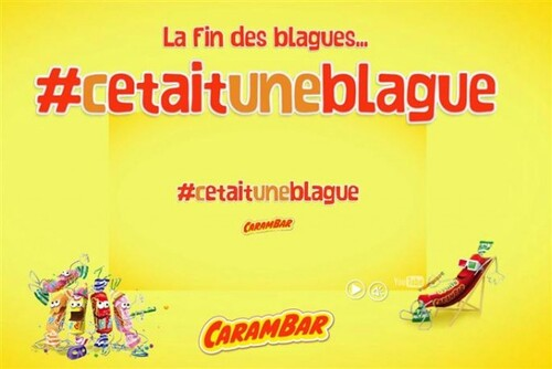 Caca-rambar, une blague qui colle aux dents