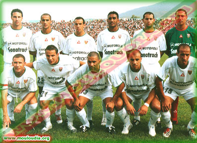 "undi 4.10.2004 à Blida Stade ""Tchaker Mustapha"" Mise à jour du 20.09.2004 NA Hussein Dey-MCA 0-1"