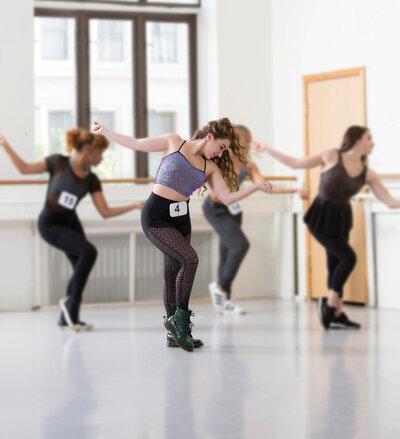 dance ballet audition ballet class