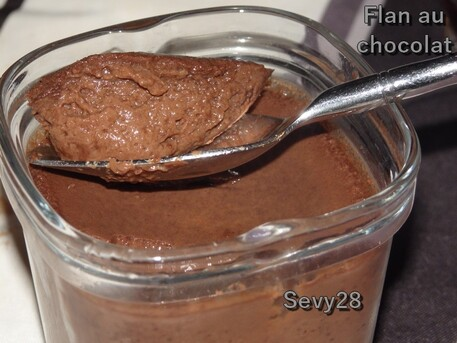 Flans au chocolat (multidélices+thermomix)