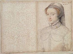 Jacqueline de Rohan par Clouet
