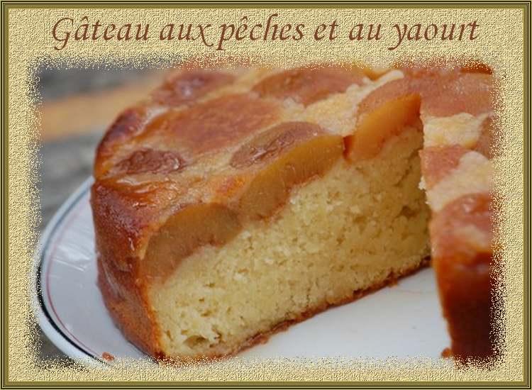 Gâteaux aux pêches et au yaourt
