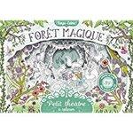 Chronique Petit théâtre à colorier : Forêt magique illustré par Anna Stiles.