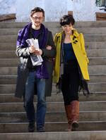 Joseph Gordon-Levitt et Lexy Hulme