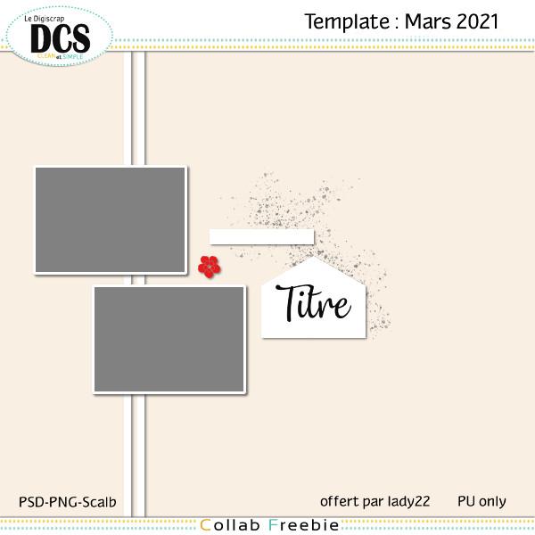 Templates DCS-Mars 2021