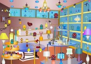 Lights showroom - Hidden objects