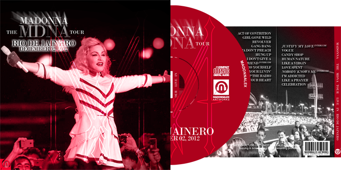 The MDNA Tour - Audio Live in Rio de Jainero